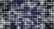 Wall star silver 2 640x480 Stock Footage