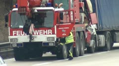 Fire department Stock Footage