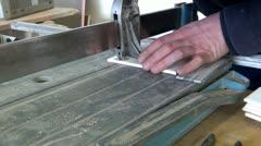 floor tiler - stock footage