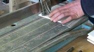 Floor tiler Stock Footage