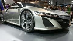 Acura nsx concept Stock Footage