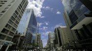 Sao Paulo urban spaces 4k Stock Footage