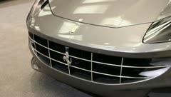 Ferrari headlights Stock Footage