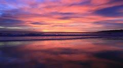 Orange Sunset #9 Stock Footage