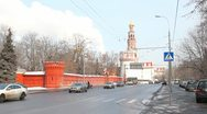 Novodevichy Convent Stock Footage