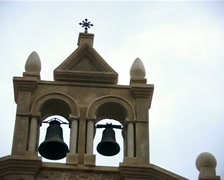 Antique bell tower Stock Footage