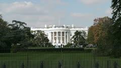 The White House, Washington DC Stock Footage