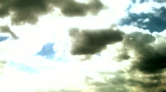 Cloud timelapse speed 4 Stock Footage