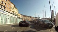 Bugatti Veyron POV Saint Tropez Stock Footage