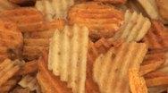 Potato Snacks Stock Footage