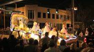 Mardi Gras Parade Queen Stock Footage