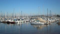 Boats in harbor V4 - HD Stock Footage
