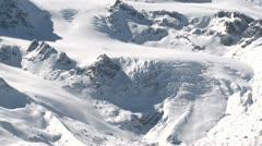 Glacier High Altitude Mountain Peak - stock footage