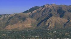 Utah Mountains Stock Footage