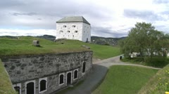 Stock Video Footage of Kristiansten fortress summer