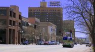 Stock Video Footage of Downtown Ogden Utah