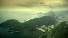 Pan do azucar timelapse HDR - stock footage