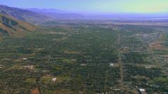 Ogden Utah Aerials Stock Footage