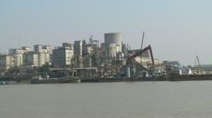 Grain Port Stock Footage
