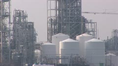 Chemical industry Stock Footage
