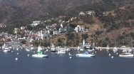 Island harbor Stock Footage