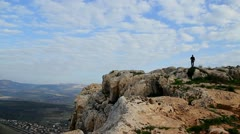Stock Video Footage of Cliffs of Arbel 1
