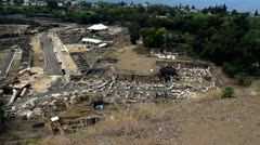 Beit She'an 4 - stock footage