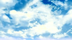 Stainless  Cotton Cloud 5 Stock Footage