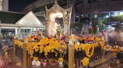 Erawan Shrine Stock Footage