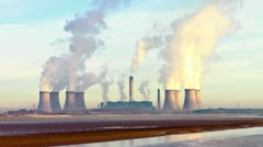 Power Station Stock Footage
