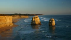 Gibson Steps in Australia, time-lapse Stock Footage
