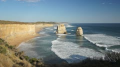 Gibson Steps in Australia, Port Campbell NP Stock Footage