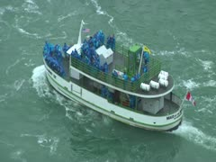 Maid of the Mist Boat 2 Stock Footage