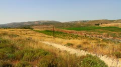 Wide View of Samaria-Shiloh Stock Footage