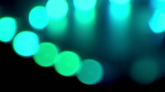 Coloured lights leak background Stock Footage