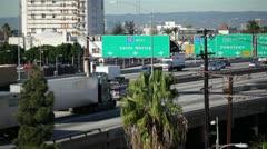 LA Freeway 11 HD Stock Footage