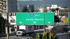 LA Freeway 12 HD - stock footage