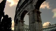 Stock Video Footage of Roman Amphitheater in Pula, Croatia - Timelapse HD 2