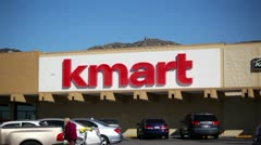 Kmart Sign 01 HD Stock Footage