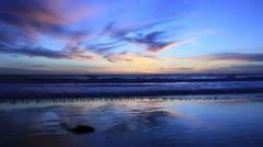 Sunset & Birds #5 Stock Footage