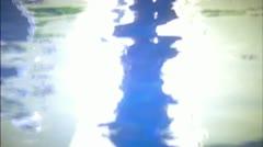 BODY_ COUPLE_ 1_POOL_ REFLECTION_ DANCE_ 01 Stock Footage