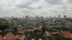 Sky, city, Thailand. Stock Footage