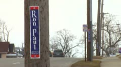Ron Paul 2012 Stock Footage
