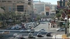 Las Vegas Strip - Nevaga Stock Footage