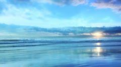 Sea & Clouds #16 - stock footage