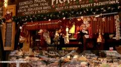 street meat shop - stock footage