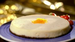 Stock Video Footage of FOOD CHEESECAKE 05
