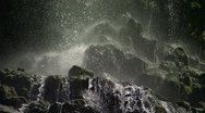 Waterfall CU 7 Stock Footage