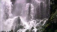 Waterfall CU 8 Stock Footage