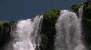Waterfall CU 9 Stock Footage